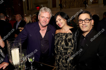 Stock Photo of Aidan Quinn, Karen Duffy, Jason Weinberg