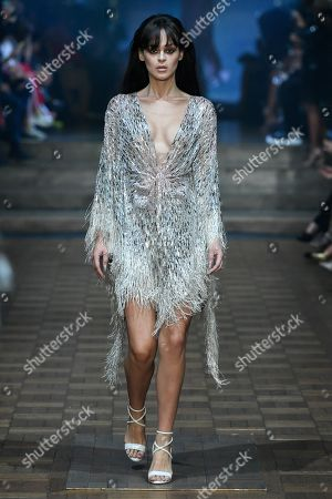 Stock Picture of Genevieve Potgieter on the catwalk