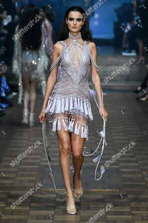 Blanca Padilla on the catwalk