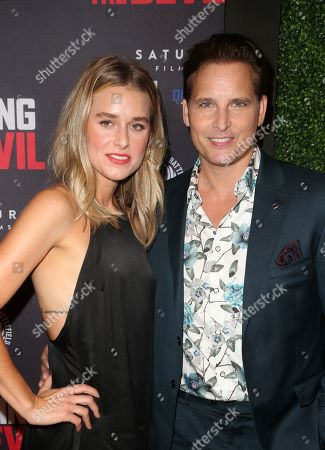 Stock Photo of Peter Facinelli, Lily Anne Harrison