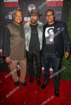 Laurence Fishburne, Nicolas Cage, Jason Cabell