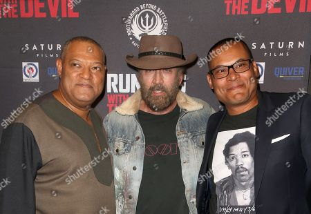 Stock Picture of Laurence Fishburne, Nicolas Cage, Jason Cabell
