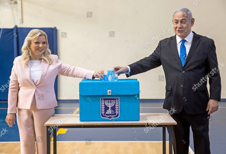 Editorial picture of Israeli legislative election, Jerusalem, Israel - 17 Sep 2019