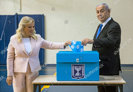 Editorial image of Israeli legislative election, Jerusalem, Israel - 17 Sep 2019