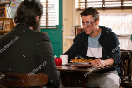 Ep 9883 Wednesday 25th September 2019 - 1st Ep Adam Barlow, as played by Sam Robertson, learns it was Gary who attacked Ryan Connor, as played by Ryan Prescott, and confides in Imran Habeeb. Adam and Imran confront Ryan but he flatly denies it, sticking to the story that he was mugged.