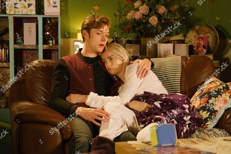 Ep 9878 Wednesday 18th September 2019 - 2nd Ep Daniel Osbourne, as played by Rob Mallard, gets upset as Sinead Tinker, as played by Katie McGlynn, declares she's going to try one more round of chemo and if she still feels dreadful, it will be her last.