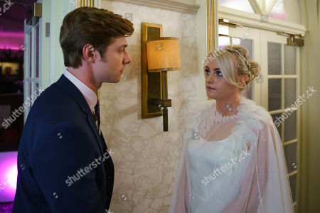 Ep 9870 Monday 9th September 2019 - 2nd Ep Sinead Tinker, as played by Katie McGlynn, quietly takes Daniel Osbourne, as played by Rob Mallard, to one side and breaks the news that she's found a lump. As Daniel reels Sinead implores him to bury his fears and enjoy the day.