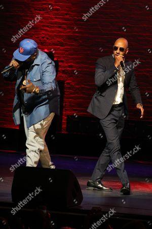 Swizz Beatz and Rick Ross