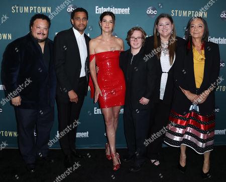 Adrian Martinez, Michael Ealy, Cobie Smulders, Cole Sibus, Camryn Manheim, and Tantoo Cardinal