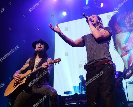 Dave Navarro and Gavin Rossdale