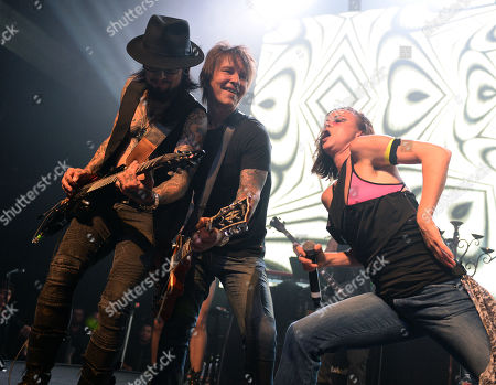 Stock Image of Dave Navarro, Billy Morrison and Juliette Lewis