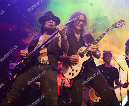 Stock Image of Dave Navarro and Steve Vai