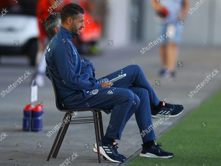 Stock Picture of Bayern Munich coach Martin Demichelis