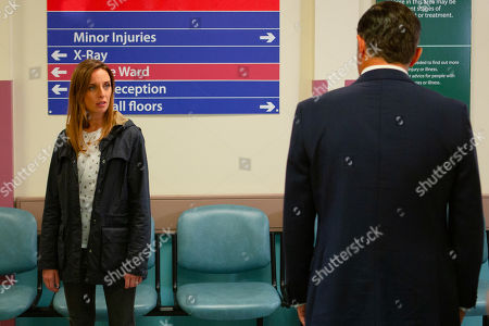 Ep 8600 Monday 23rd September 2019 As they wait for the doctor's verdict on Millie, Kim Tate assures an uncertain Jamie Tate that he isn't to blame for the accident. Meanwhile, Graham Foster, as played by Andrew Scarborough, demands answers from a worried Andrea Tate, as played by Anna Nightingale, after she reveals Millie's date of birth. Andrea is horrified when Graham asks if he is Millie's father.