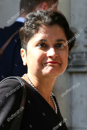 Baroness Shami Chakrabarti, the Shadow Attorney General leaves UK Supreme Court in London on the first day of the three day appeal hearing in the multiple legal challenges against the Prime Minister Boris Johnson's decision to prorogue Parliament ahead of a Queen's speech on 14 October. Eleven instead of the usual nine Supreme Court justices will hear the politically charged claim that Boris Johnson acted unlawfully in advising the Queen to suspend parliament for five weeks in order to stifle debate over the Brexit crisis. It is the first time the Supreme Court has been summoned for an emergency hearing outside legal term time. Lady Hale, the first female president of the court who retires next January, will preside.