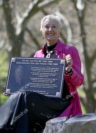 Editorial image of Unveiling of plaque for First South Australian Labor Premier Tom Price, Adelaide, Australia - 17 Sep 2019