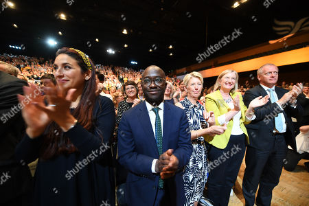Luciana Berger, Sam Gyimah and Phillip Lee