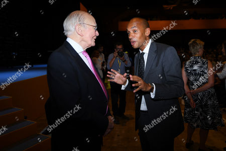 Stock Picture of Sir Menzies Campbell and Chuka Umunna