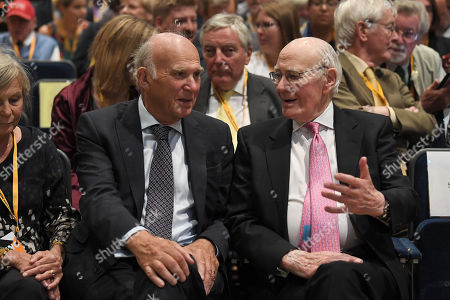 Vince Cable and Menzies Campbell