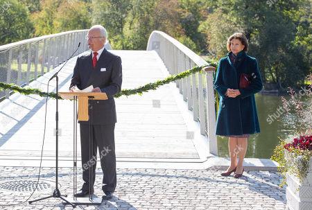 Folke Bernadotte bridge inauguration, Stockholm
