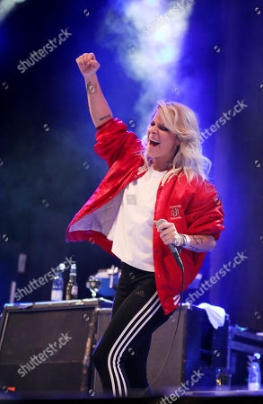 Editorial photo of The Sounds in concert, Grona Lund, Stockholm, Sweden - 13 Sep 2019