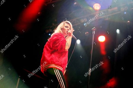 Stock Picture of The Sounds, Maja Ivarsson