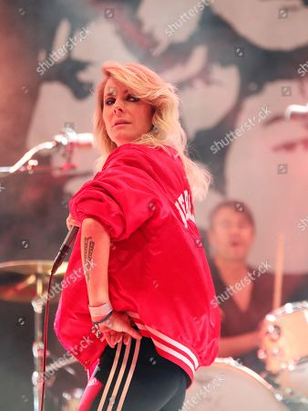 Editorial picture of The Sounds in concert, Grona Lund, Stockholm, Sweden - 13 Sep 2019