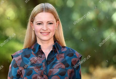 Jennifer Ulrich poses during the photocall for 'Drive Me Home' in Rome, Italy, 17 September 2019. The movie opens in Italian theaters on 26 September.