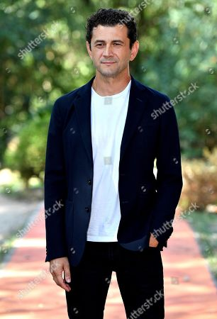 Vinicio Marchioni poses during the photocall for 'Drive Me Home' in Rome, Italy, 17 September 2019. The movie opens in Italian theaters on 26 September.