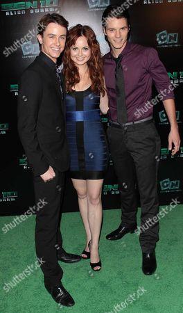 Stock Picture of Ryan Kelly, Galadriel Stineman, and Nathan Keyes