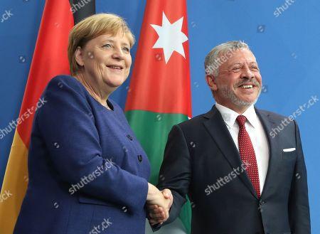 King Abdullah II of Jordan visit to Berlin