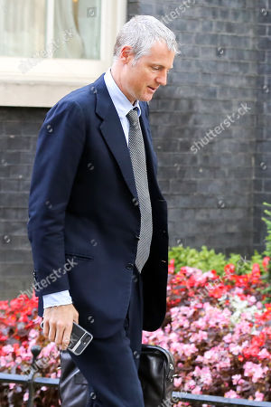 Minister of State for Environment, Food and Rural Affairs and Department for International Development Zac Goldsmith departs from No 10 Downing Street after attending the weekly Cabinet Meeting.