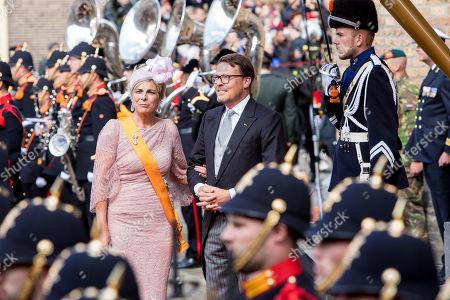 Prince Constantijn and Princess Laurentien