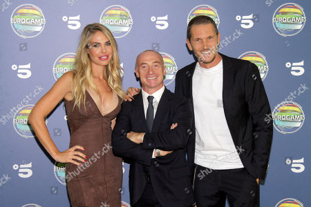 Editorial picture of 'Eurogames' TV show photocall, Milan, Italy - 17 Sep 2019