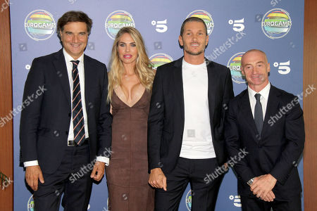Editorial image of 'Eurogames' TV show photocall, Milan, Italy - 17 Sep 2019