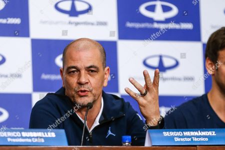 Editorial picture of Argentina's national basketball team arrives to Buenos Aires - 17 Sep 2019