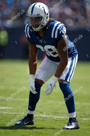 Editorial image of Colts Titans Football, Nashville, USA - 15 Sep 2019