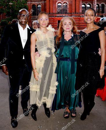 Charles Aboah, Adwoa Aboah, Camilla Lowther and Kesewa Aboah