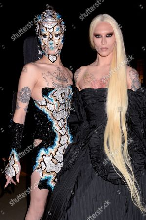Kyle De'volle and Miss Fame