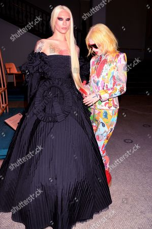 Miss Fame and Pam Hogg