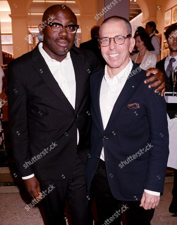 Edward Enninful and Jonathan Newhouse