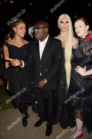 Kesewa Aboah, Edward Enninful, Miss Fame and Karen Elson