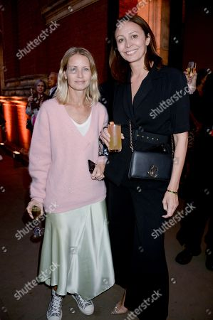 Caroline Rush (right) and guest