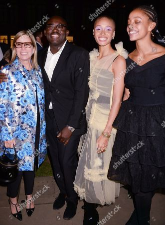 Ronnie Cooke Newhouse, Edward Enninful, Adwoa Aboah and Kesewa Aboah