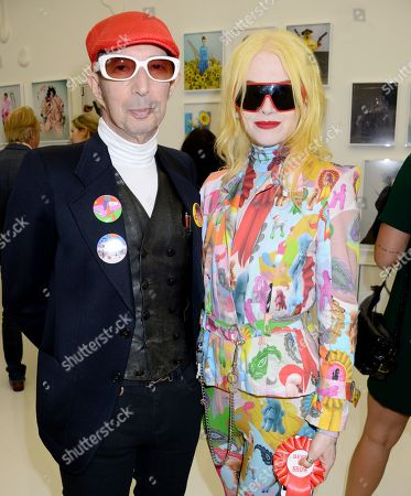 Dougie Field and Pam Hogg