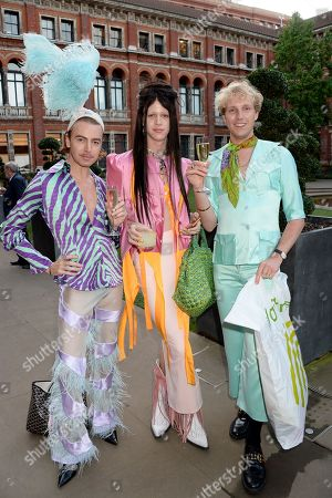 Lily Bling, Anthon Raimund and Daniel John Sansom