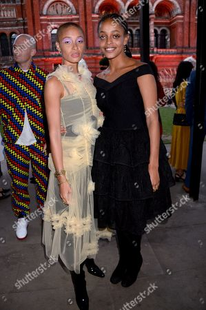 Stock Picture of Adwoa Aboah and Kesewa Aboah