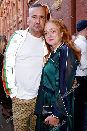 Fat Tony and Camilla Lowther