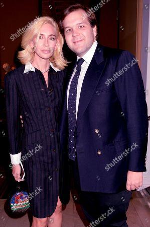 Sabine Getty and Joseph Getty