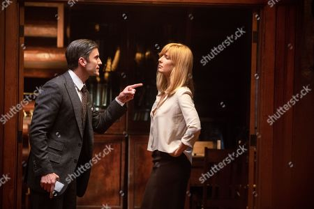Wes Bentley as Jamie Dutton and Kelly Reilly as Beth Dutton